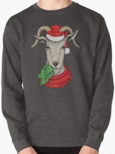 Eating Goat Christmas Sweater
