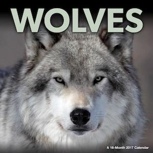 Wolves 2017 Wall Calendar