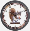 Squirrel Wall Clock