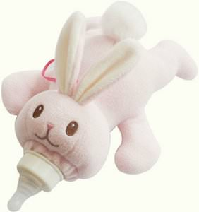 Bunny Baby Bottle Warmer / Holder