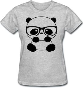 Panda Nerd T-Shirt