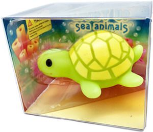 Turtle Bath Toy With Light