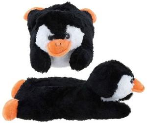 Penguin 12 Inch Plush Slippers