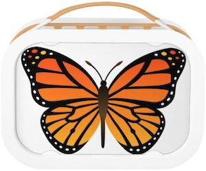 Monarch Butterfly Lunch Box