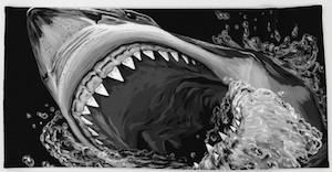 Shark Bite Towel