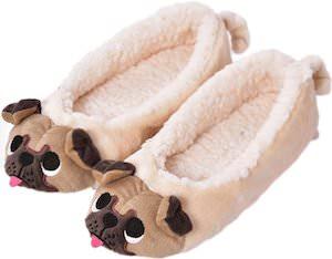 Women's Pug Slippers