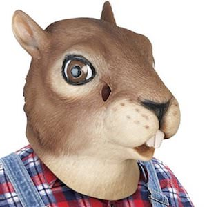 Latex Squirrel Mask