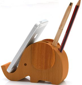 Elephant Phone And Pencil Holder