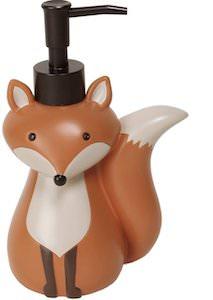 Red Fox Soap Dispenser