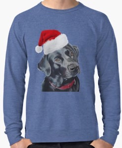Black Labrador Christmas Sweater