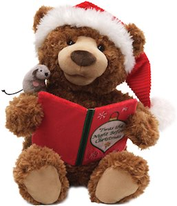 Gund Christmas Storytime Bear