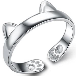 Cat Ears And Paws Ring