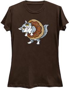 Cat Inside A Donut T-Shirt