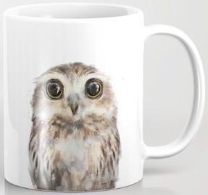 Staring Owl Mug