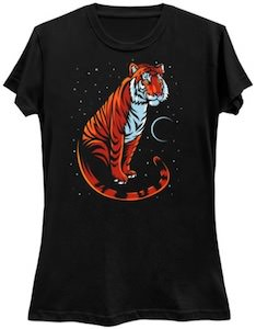 Long Tail Tiger T-Shirt