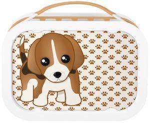 beagle lunch box stuff with animals