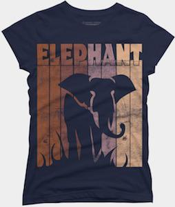 Elephant Lines T-Shirt
