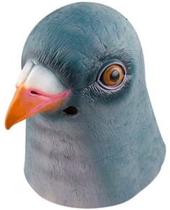 Pigeon Latex Mask