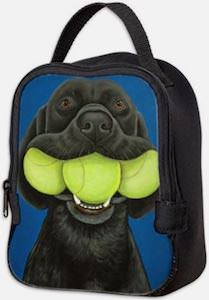 Black Lab And Tennisballs Lunch Box