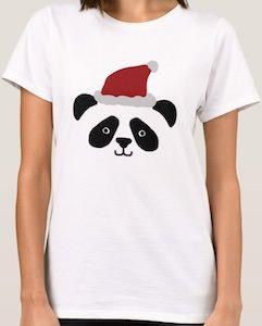 Panda Santa T-Shirt