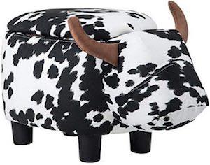 Cow Ottoman