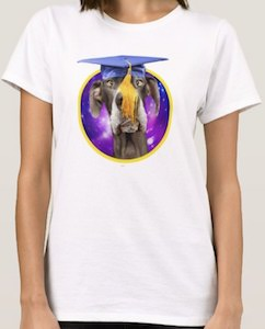 Great Dane Graduation Dog T-Shirt
