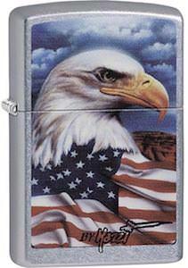 US Bald Eagle Zippo Lighter