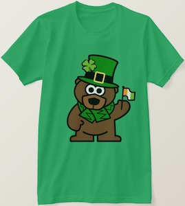 St Patrick's Day Bear T-Shirt