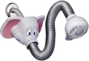 Flexible Elephant Shower Head