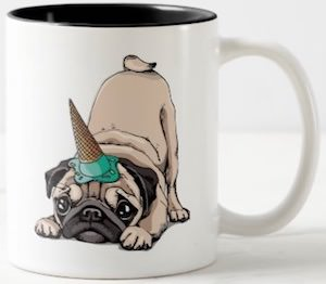 Unicorn Pug Mug