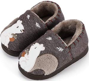 Toddler Squirrel Slippers