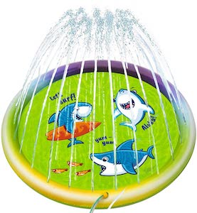 Shark Splash Pad