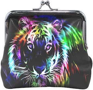 Neon Tiger Coin Wallet