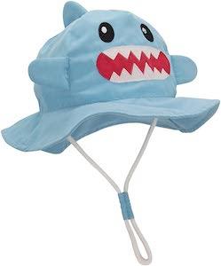 Kids Shark Sun Hat