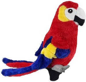 Parrot Golf Club Head Cover