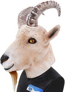 Big Horn Goat Mask
