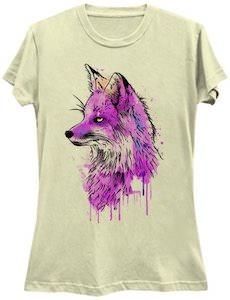 Painted Fox T-Shirt