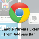 How To Quickly Enable and Disable Chrome Extensions from Omnibar