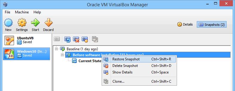 virtualbox-restore-snapshot