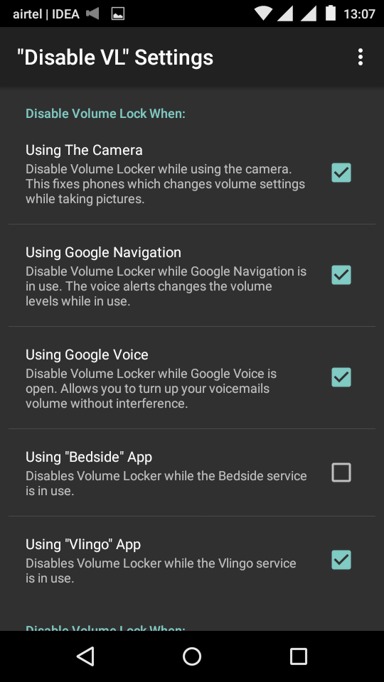 Disable Volume Buttons - Disable Volume Locker