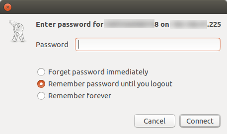 ubuntu-remote-folder-enter-password