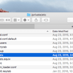 How to Edit Hosts File On Mac OS X