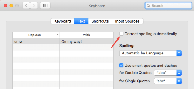 mac-os-turn-off-auto-correct-uncheck-checkbox