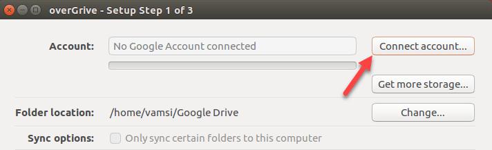 ubuntu overgrive connect account