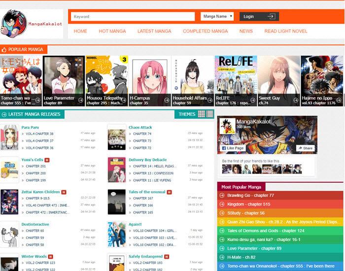 Best manga website - MangaKakalot