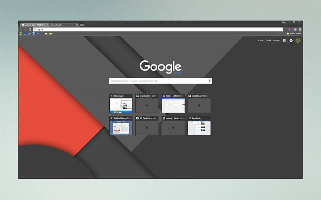 Dark themes for Google Chrome - Material Dark (MKBHD Inspired)