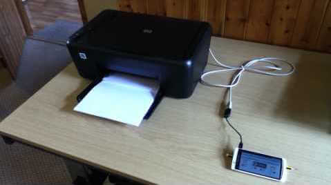 Top 10 uses of OTG cable - Print documents