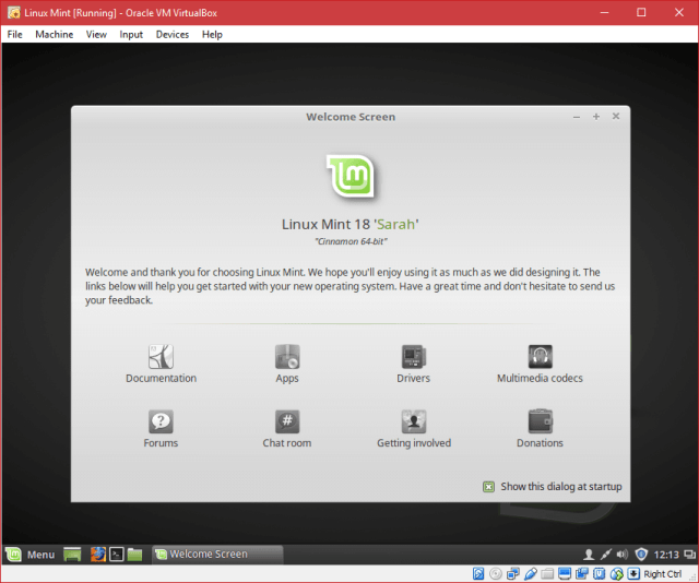 Install Linux Mint in VirtualBox - Installation Completed