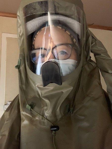 Local Dr. closeup suit