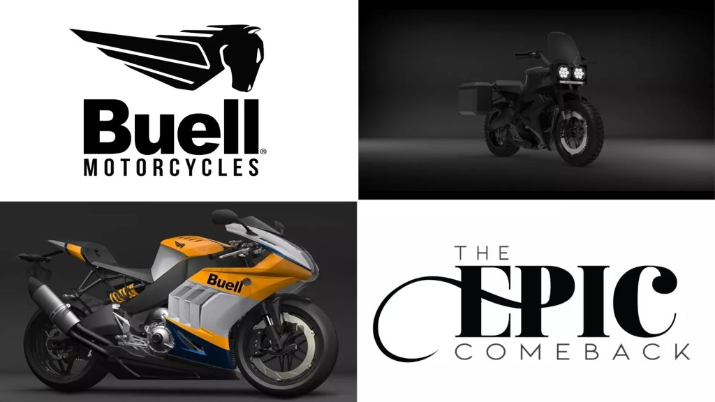 Buell Motorcycles is back in business - to launch 10 new bikes by 2024